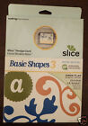 Making Memories Slice MS+ Design Card BASIC SHAPES 3 Scrapbooking Craft NEW