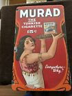 Old Murad Tobacco Porcelain Sign Double sided
