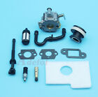 Carburetor Intake Boot Fuel Oil Hose Kit Fit STIHL 018 017 MS180 MS170 Chainsaw