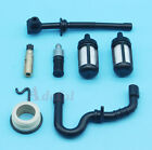 Oil Pump Worm Gear Fuel Hose Service Kit For STIHL 018 MS180 MS170 017 Chainsaw
