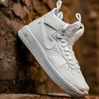 NIKE AIR FORCE 1 ULTRAFORCE MID MENS SHOE LIFESTYLE COMFY SNEAKER White