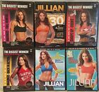 6 Jillian Michaels workout exercise fitness DVD lot 6 week six pack 30 day shred