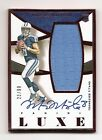 2015 PANINI LUXE MARCUS MARIOTA AUTO JERSEY # 99 RED ROOKIE TENNESSEE TITANS