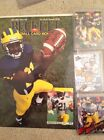 Michigan Wolverine Lot Howard Beckett Wheatley Promo Grbac 10 Stripe Wild Card