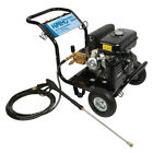 INDUSTRIAL PETROL DRIVEN HIGH PRESSURE WASHER WITH LANCE AND 5 SPRAY NOZZLES