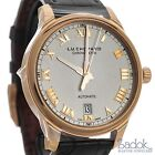 Chopard LUC 1937 Classic 18k Rose Gold Automatic Watch 161937-5001 Black Leather