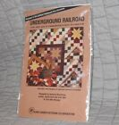 UNDERGROUND RAILROAD QUILT PATTERN DOLL WALL BED SUNFLOWER PATTERN CO OP NEW