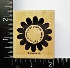 So Sweet Of You Flower By Stampin Up Saying Phrase Greeting Rubber Stamp 29A