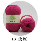 Sale Knitting Crochet Dk Cashmere Super Soft Baby Cotton Wool Yarn 50g Lot Of