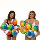 Pool Beach Toys Balls Set Of 12 Summer Fun Kids Adults Inflatable Floating Ball