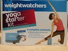 NEW Weight Watchers Yoga Starter Kit 2 Complete Workouts DVD Yoga Strap Block