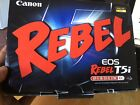 BRAND NEW Canon EOS Rebel T5i Digital SLR Camera with 18 55mm EF S IS STM Lens
