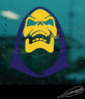 Skeletor Purple yellow STICKER VINYL DECAL HE MAN MASTERS OR THE UNIVERSE MATTEL