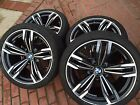 BMW M6 Staggered Set Of Four 20 OEM Used Genuine Rims And Tires