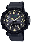 CASIO PRO TREK Black Analog Digital Sport Watch Cloth Band PRG600Y-1