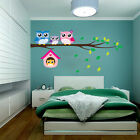 DIY Lovely Owl Family  Tree Removable Wall Sticker Vinyl Mural Decal Art Home