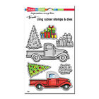 Stampendous Stamp  Cut TRUCK TIDINGS