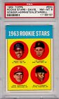 1963 Topps #553 Willie Stargell RC PSA 8 Pirates Centered Rookie