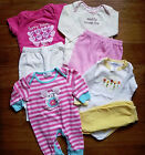 Lot of 7 pc Baby Girl clothes bodysuit pants pajamas size 3 6 months