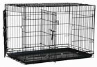 Precision Pet Dog Two Door Great Kennel Crate Large 42x28x30 inches