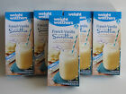 Weight Watchers French VANILLA Smoothie Shakes 5 Sealed Boxes  35 Shakes