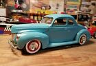 Vintage AMT 1940 Ford Coupe Built Model Kit 40 Survivor Original Issue