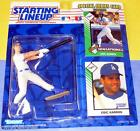 1993 ERIC KARROS Los Angeles Dodgers Rookie - low s/h - ROY Starting Lineup