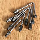 Solid Carbide Burrs Kits Die Grinder Carving Bit for Power Polisher Rotary Tool