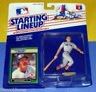 1989 WADE BOGGS Boston Red Sox #26 Starting Lineup - low s/h - HOF 3000+ hits