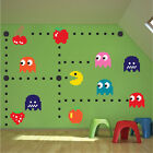 Pacman Wall Decal Sticker Pac Man Bedroom Video Game Pacman Wallpaper Design n52