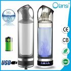 Olansi Portable USB Rechargable H2 Hydrogen Rich Water Ionizer Bottle Maker Cup