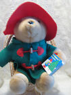 VINTAGE PADDINGTON BEAR WITH BOOK APPROX 16  TAGGED SEARS