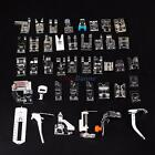 42 pcs Domestic Sewing Tool Machine Presser Foot Set for Brother Singer Janome