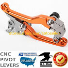 For KTM 250 SX/SX-F/ XC/ EXC/F/ Sixdays 2007-2013 Pivot Brake Clutch Levers Set