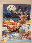 Up With Paper Treasures Pop Up Christmas Card Santas Sleigh Ride Special Card