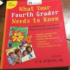 What Your Fourth Grader Needs to Know By ED Hirsch Jr Homeschool Education