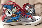 Converse Chuck Taylor All Star Superman Size 8 M 12 W EUC High Top Sneakers