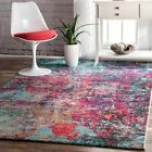 nuLOOM Contemporary Abstract Reva Abstract Multi Colored Area Rug