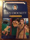 Davy Crockett Young Rifleman Childhood Of Famous Americans Paperback A Parks