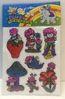 VINTAGE Strawberry Shortcake Stickers Unopened Pack 1980 Puffy Collectible NIB
