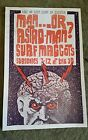 Surf Maggots Man...or Astro-man Subsonics 3B Tavern concert poster Art Chantry