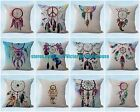 US SELLER set of 10 cushion covers native Indian dream catcher cheap pillow