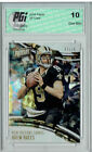 Drew Brees Rookie Cards Checklist and Autographed Memorabilia Guide 17