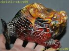 Chinese Man-made Resin Carving Fengshui Wealth Animal Dragon Fish Beast Statue