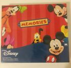 NEW and Factory Sealed Disney Mickey and Friends Memories Photo Scrapbook Album