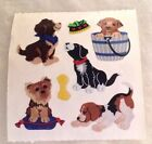 Vintage Sticker MOD 2in X 2in Sandylion Dogs Puppies Rare Sandy Lion