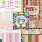 Dovecraft scrapbooking paper 8x8 full pack or single sheets