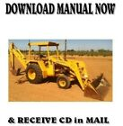 John Deere 310 A Backhoe Loader (1986) Service Repair Workshop Manual on CD