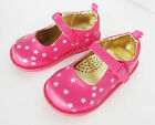 Gymboree Baby Girls Pink Star Print Mary Jane Shoes Toddler Sizes 4 6 NWT