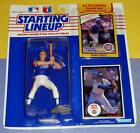 1990 MARK GRACE Chicago Cubs batting stance -low s/h Starting Lineup + 1988 card